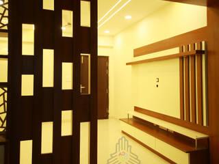 Vazhra Vihaari Classic style living room by Meticular Interiors LLP Classic