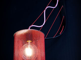 willowlamp Dining roomLighting Aluminium/Zinc Red
