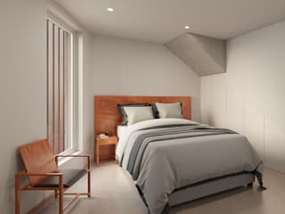 DR Arquitectos Small bedroom