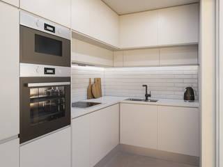 DR Arquitectos 置入式廚房