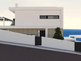 Casas dos Coxos l Ribamar | Mafra | Início de Construção por DR Arquitectos Moderno