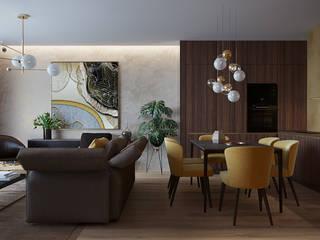 Living room#5 Гостиная в стиле минимализм от Оксана Мухина Минимализм