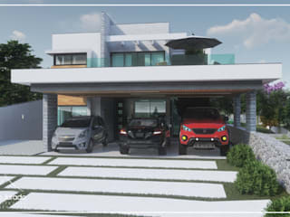 Juan Jurado Arquitetura & Engenharia Garage / Hangar modernes