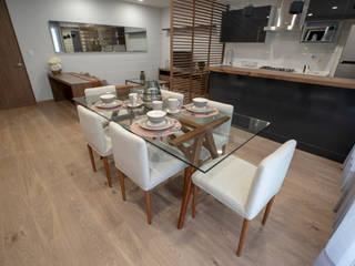 Salle à manger moderne par CADU Residencial Moderne