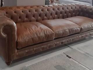 Real leather Chester Sofa BOSTAN MOBİLYA VE TASARIM SAN.TİC.LT.ŞTİ Kırsal/Country