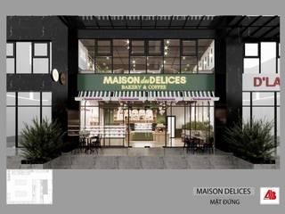 Thiết kế nội thất tiệm bánh Maison des Delices bởi Thiết Kế Nội Thất - ARTBOX