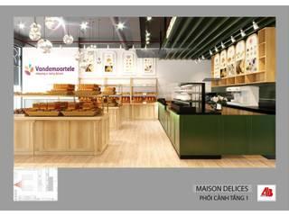 Thiết kế nội thất tiệm bánh Maison des Delices Thiết Kế Nội Thất - ARTBOX