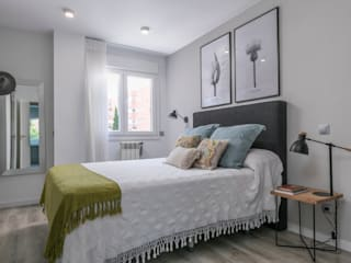 Reforma integral e interiorismo Avenida de la Peseta (Madrid) ALTIA Dormitorios de estilo moderno