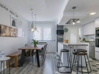 Reforma integral e interiorismo Avenida de la Peseta (Madrid) ALTIA Cocinas de estilo moderno