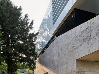 Haus B Najjar - Najjar Architekten Villa Stein Braun