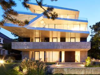 Haus B Najjar - Najjar Architekten Villa Aluminium/Zink Weiß