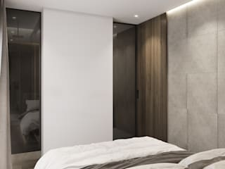 degma studio Modern Bedroom
