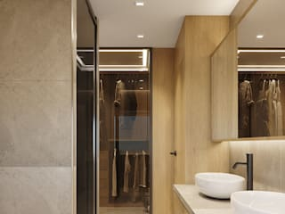 degma studio Modern Bathroom