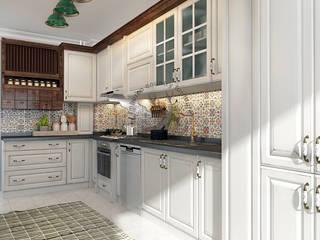 İMHOTEP COUNTRY FURNİTURE Proje Tasarım&Aydınlatma Kitchen units Solid Wood White