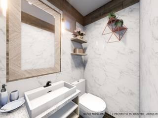 DISEÑO RESIDENCIAL - CASAS Y DEPARTAMENTOS Baños de estilo minimalista de Yeniffer Jimenez - Diseño y Decoración de Interiores Minimalista
