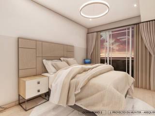 DISEÑO RESIDENCIAL - CASAS Y DEPARTAMENTOS Yeniffer Jimenez - Diseño y Decoración de Interiores Dormitorios de estilo moderno