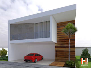 Modern Windows and Doors by HHRG ARQUITECTOS Modern