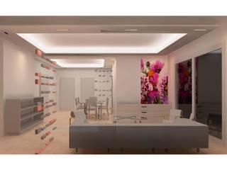 SOHO Modern living room by enertia Modern