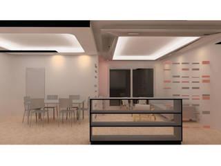 SOHO Modern dining room by enertia Modern