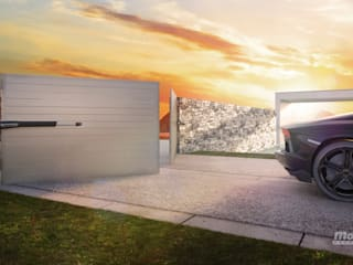 CONTROL REMOTO FÉNIX Garages & sheds Iron/Steel White