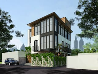 Tebet Residence Oleh Bral Studio Architecture Industrial