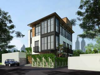 Tebet Residence Bral Studio Architecture Rumah keluarga besar