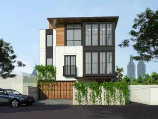 Tebet Residence Bral Studio Architecture Rumah tinggal