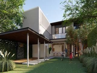 Jogja Residence Bral Studio Architecture Rumah teras