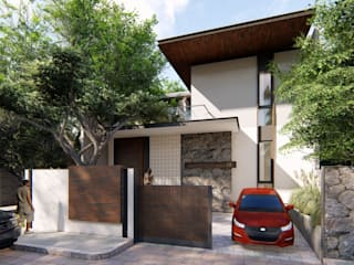 Jogja Residence Bral Studio Architecture Rumah keluarga besar