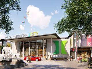 Pasar Modern Jcity - Medan Bral Studio Architecture Koridor & Tangga Modern