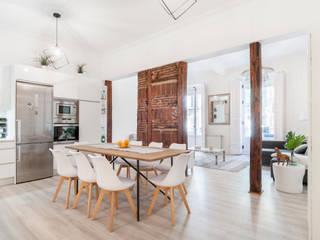 Reforma integral e interiorismo en Pelayo (Madrid) ALTIA Salones de estilo moderno