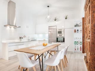 Reforma integral e interiorismo en Pelayo (Madrid) ALTIA Cocinas de estilo moderno