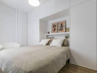 Reforma integral e interiorismo en Peñascales (Madrid) ALTIA Dormitorios de estilo moderno