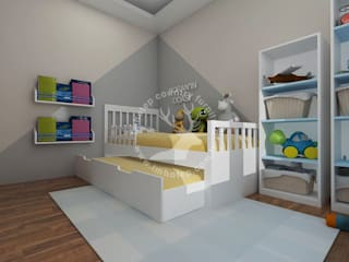 İMHOTEP COUNTRY FURNİTURE Proje Tasarım&Aydınlatma Baby room OSB White