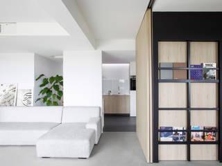 Maison Boulogne Billancourt Salon minimaliste par Gaëlle Le Boulc'h Design Minimaliste