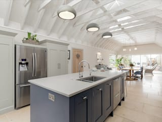 Bespoke Kitchen in a Shaker Industrial Style by Christopher Howard by Christopher Howard Industrial