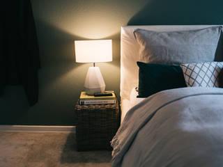 Gästezimmer in Einfamilienhaus Geertz Raumkonzepte SchlafzimmerBeleuchtung