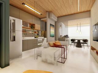 MOOD - Apartamento Vila Olímpia por Estúdio MOOD