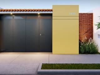 Oscar Torres Arquitecto Casa piccola Giallo