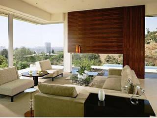 PROYECTO INTEGRAL DE DISEÑO , DECORACIÓN Y FABRICACIÓN DE MOBILIARIO DE PH AQUA de JMS Interiores Muebles y Construcción Moderno