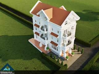 por Công ty Kiến trúc Á Âu