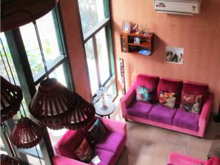 Benny Kuriakose Asian style living room