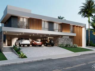 Casa MJ por Paulo Stocco Arquiteto Moderno