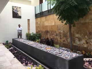 Los Textiles SCH2laap arquitectura + paisajismo Jardines de piedra