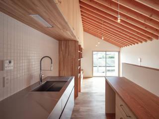 向日市の家/house of muko city モダンな キッチン の STUDIO RAKKORA ARCHITECTS モダン