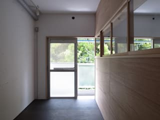 Estudios y oficinas modernos de 早田雄次郎建築設計事務所/Yujiro Hayata Architect & Associates Moderno