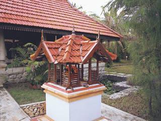 Asian style houses by Benny Kuriakose Asian