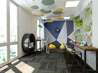 L & T OFFICE PROJECT by arch2interior