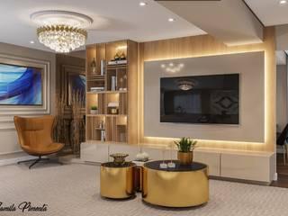 Livings de estilo clásico de Camila Pimenta | Arquitetura + Interiores Clásico