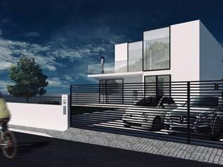 Moradia Lima em Odivelas por Nuno Ladeiro, Arquitetura e Design